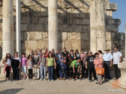 Nazareth Evangelical Theological Seminary Holds 'Geography of the Bible' Tour for Students