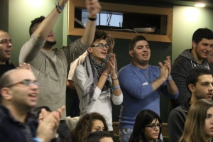 180 young people attend a youth conference in Upper Galilee