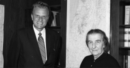 When Billy Graham Visited Israel – Bader Mansour